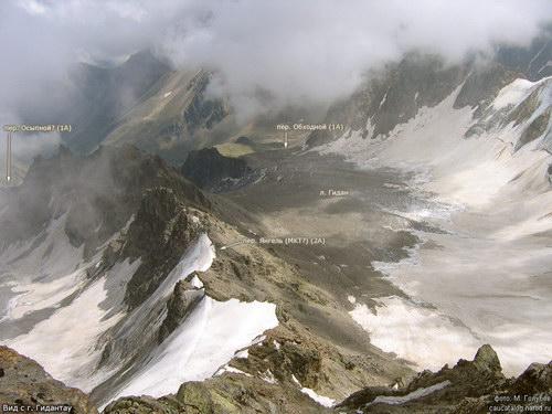 Осыпной (Безенгийский), перевал