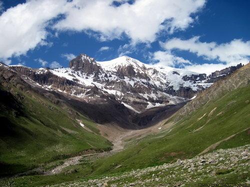 Уллукам, долина