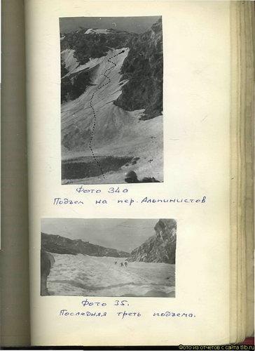 Альпинистов, перевал