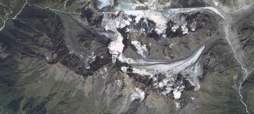 Твибер, ледник
