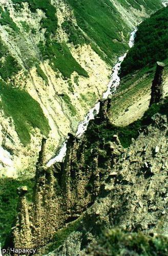 Чараксу, долина
