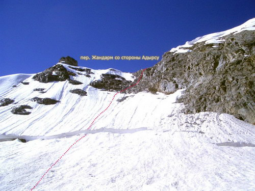 Жандарм, перевал