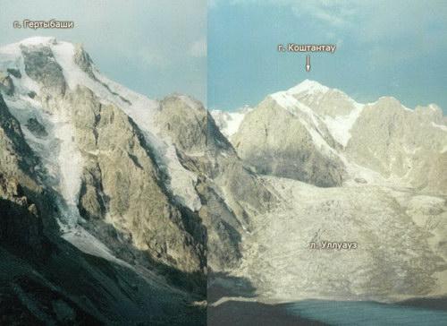 Уллуауз, ледник