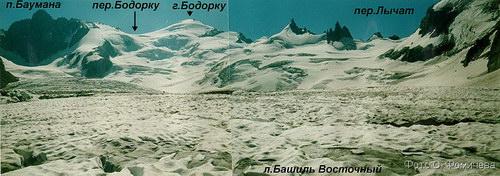 Бодорку, вершина