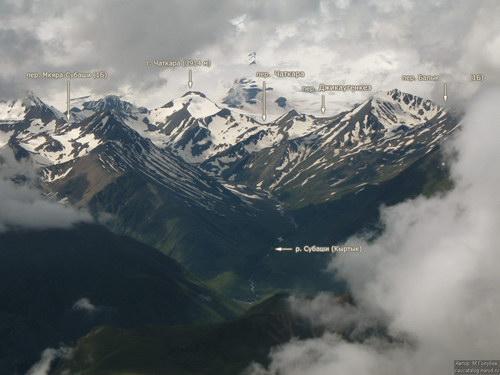 Чаткара, вершина