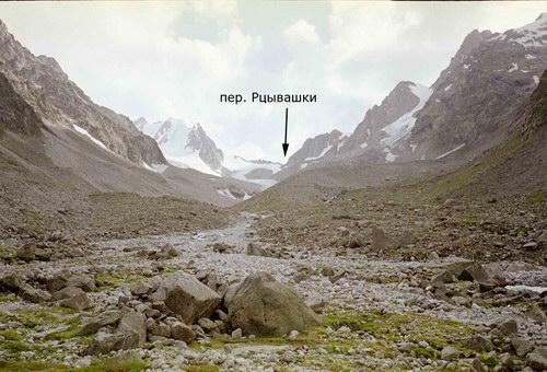 Рцывашки, перевал
