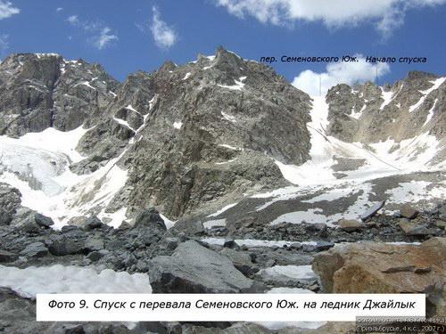 Семёновского южный, перевал