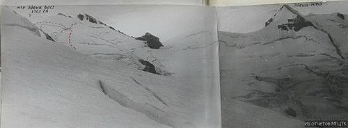 Эдена Восточный, перевал