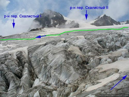 Скалистый северный (Безенгийский), перевал