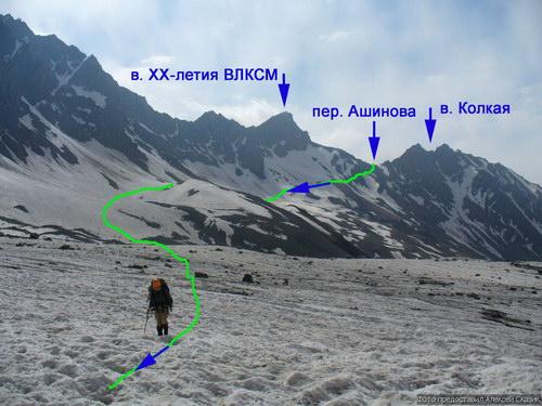 Ашинова, перевал