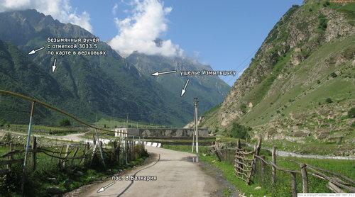 Черек Балкарский, долина