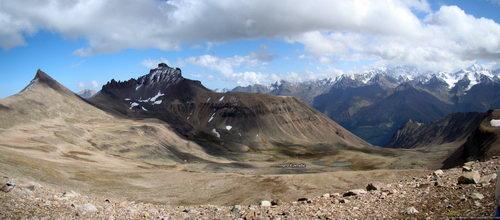 Кумтюбе Южный, перевал