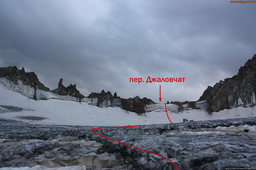 Джаловчат, перевал