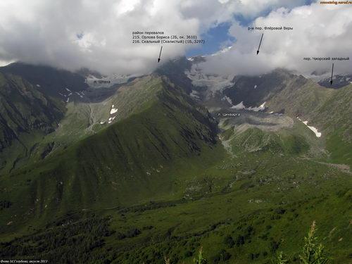 Скальный (Рачинский), перевал