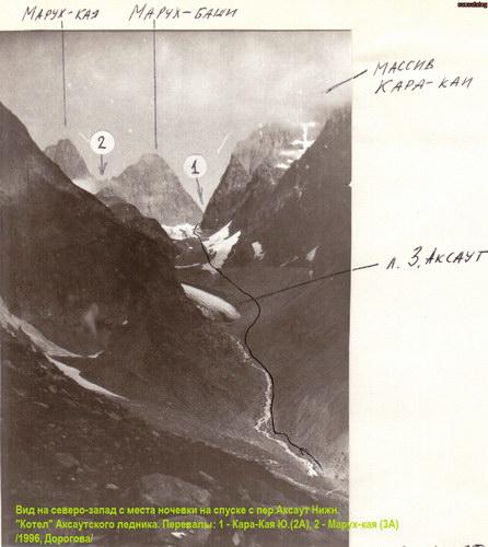 Каракая (Аксаутская), вершина