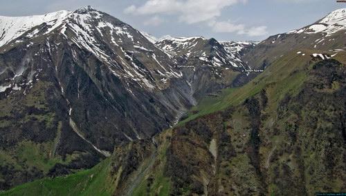Арагви Белая, долина