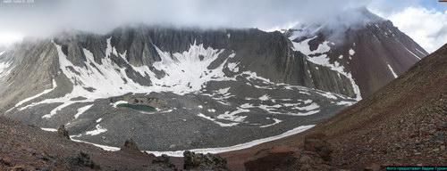 Хорисар вулкан, вершина